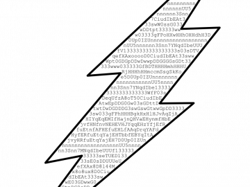 It's actually possible to make a Flash file only made of printable characters.