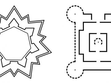 Castles' layouts
