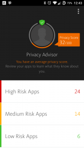 Privacy advisor - android apps