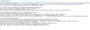 readme installation text