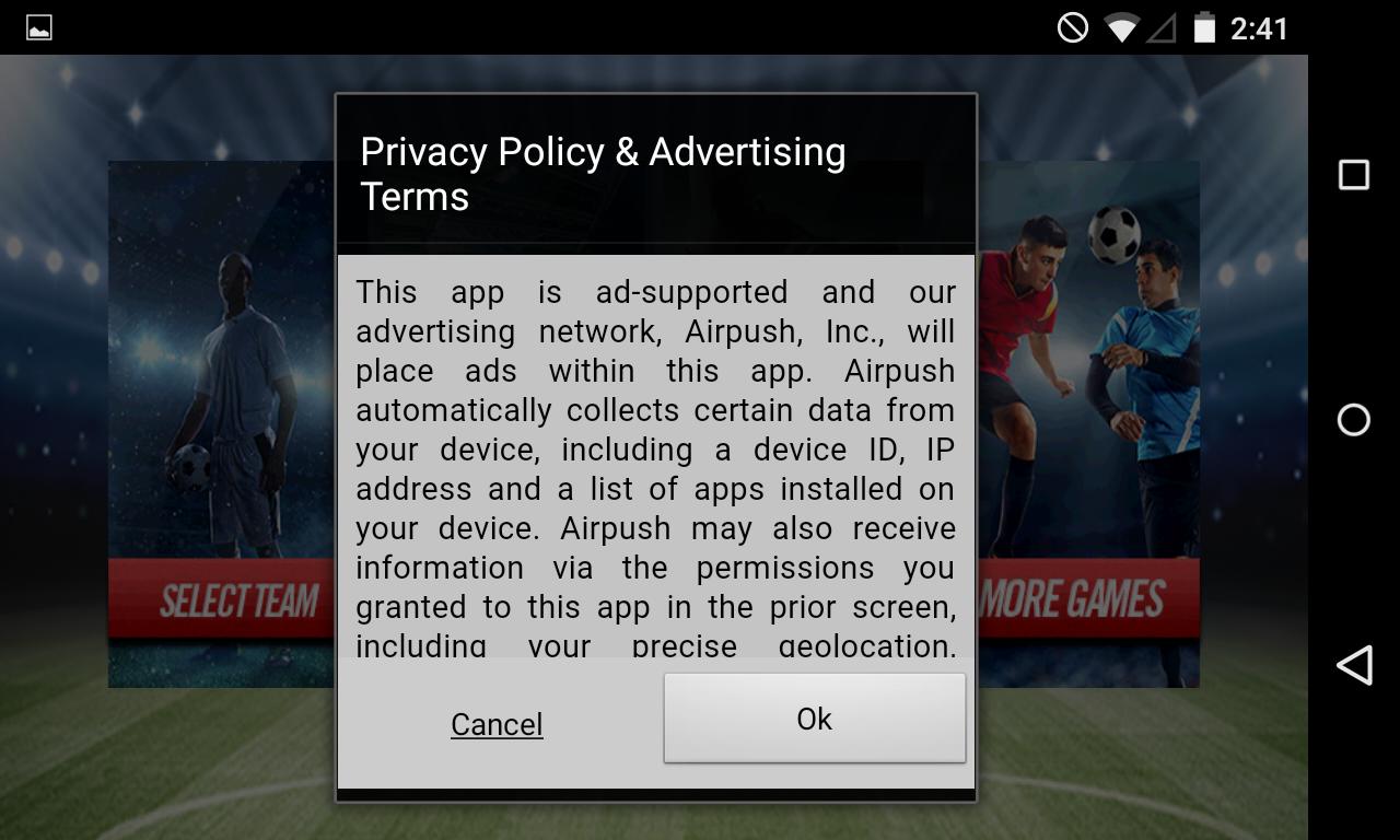 adware-privacy policy