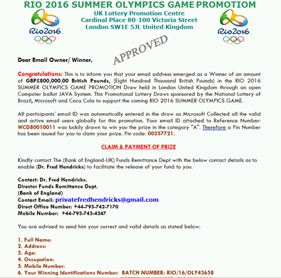 Krimineller Wettbewerb in der Vorschau – im Stil der Olympischen Spiele