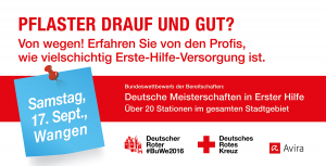 Avira, Rotes Kreuz, Deutsches Rotes Kreuz, Bundeswettbewerb der Bereitschaften
