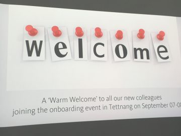 Onboarding @Avira - Welcome! On-boarding, Intégration