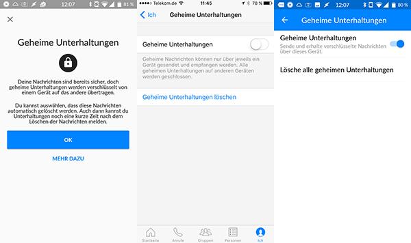 Howto: Nachrichten im Facebook-Messenger verschlüsseln