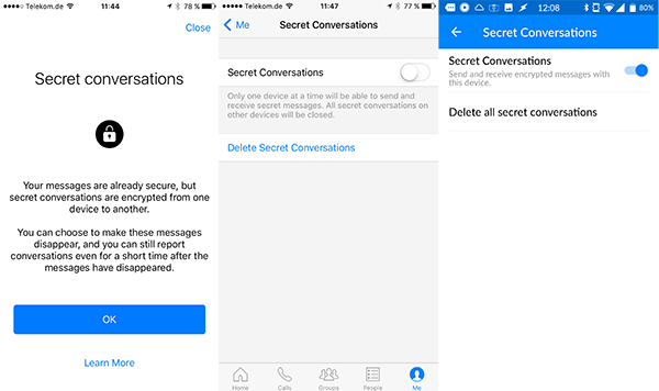 Howto: Encrypt your messages in the Facebook messenger