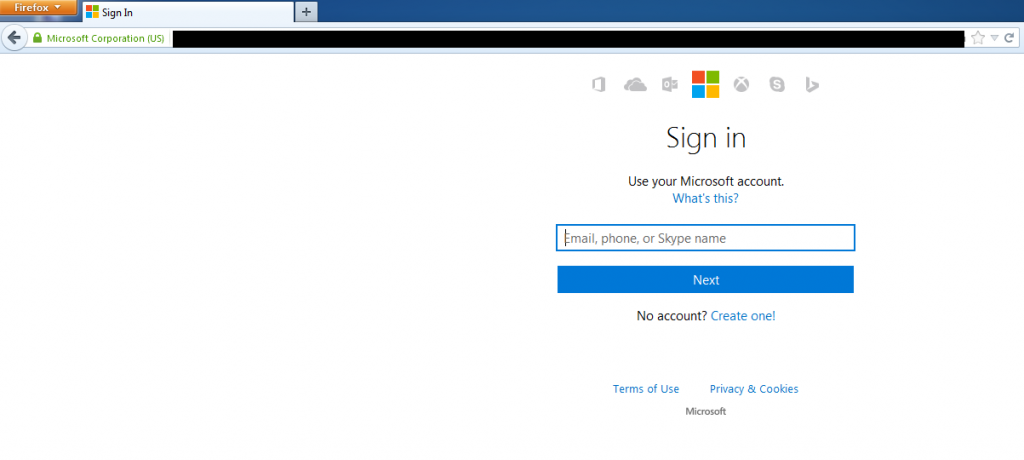 I was redirected to the official Microsoft