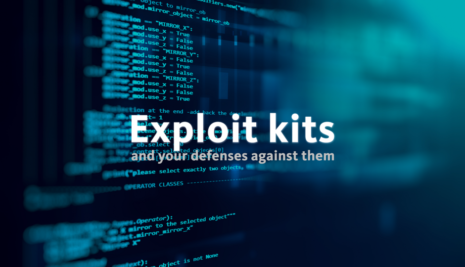 Exploit kits and the problem of do-nothing malware, Exploit-Kits, kits d'exploitation, exploit kit