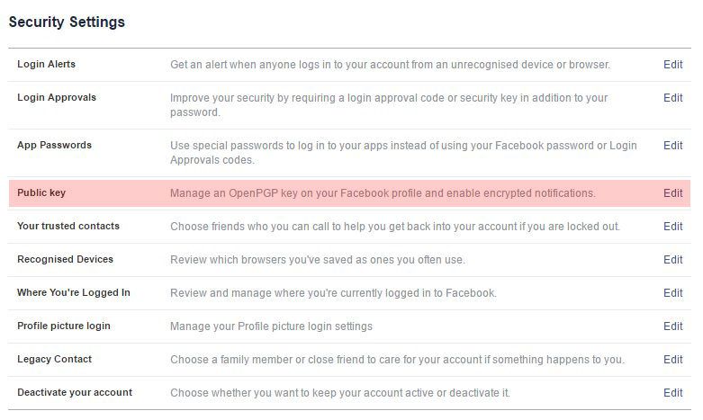 Facebook boosts up its security systems with Delegated Recovery feature - Facebook security settings