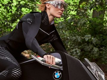 BMWs Vision Next 100 looks like the motorbike from Tron: Legacy
