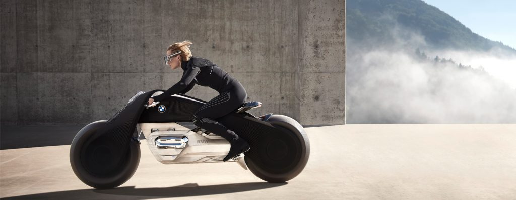 BMWs Vision Next 100 looks like the motorbike from Tron: Legacy - in-post