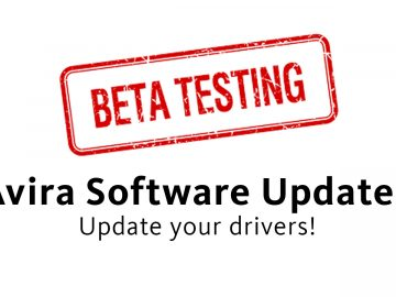 The Driver Updater: Beta for a new Avira Software Updater feature!