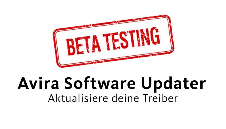 Neues Avira Software Updater Feature: der Treiber-Updater