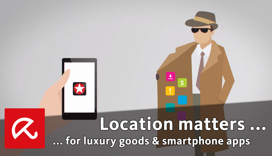 Location matters - for luxury goods and smartphone apps