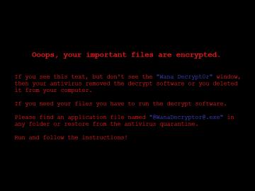 WannaCrypt0r, WannaCry
