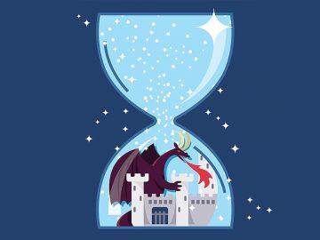 Break the hourglass, Zerschlagt die Sanduhr, Battez le sablier, Rompi la clessidra - Game of Thrones tv show