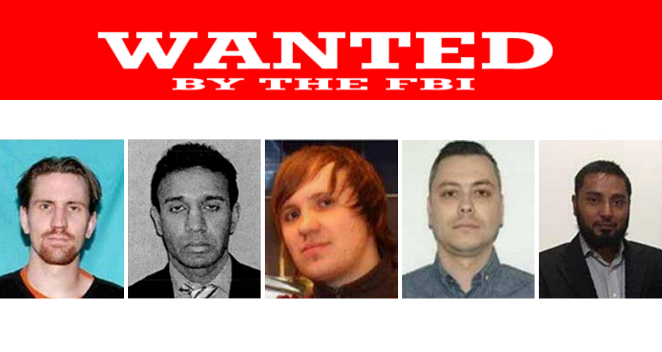 The FBI's most wanted cybercriminals, Cyberkriminelle, cyber-criminali, cybercriminels