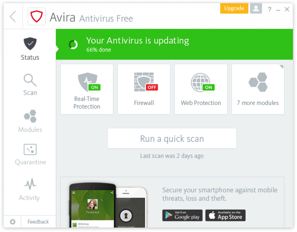 Beta Test: New user interface for Antivirus (Windows), Benutzeroberfläche - in-post