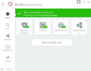 Avira Antivirus 2018: Remastered and redesigned for today's digital world - in-post