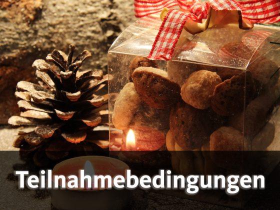 Versüßt euch die Winterzeit - mit unserem Adventskalender! - Teilnahmebedingungen