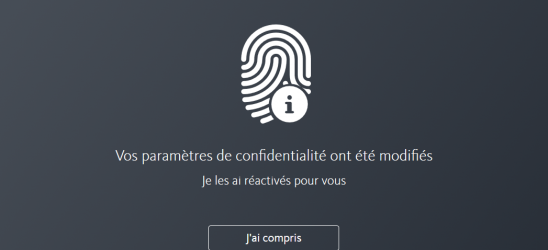 Avec Avira Privacy Pal, gérez vos cookies en privé - in-post settings changed