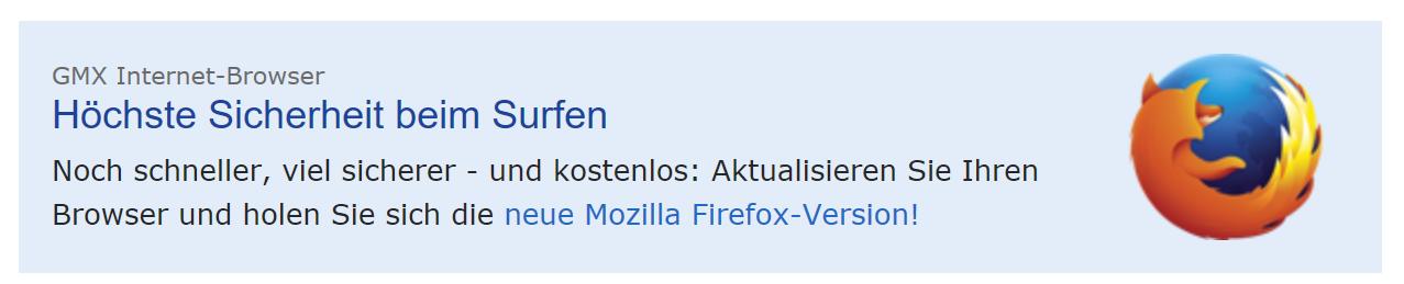 """Solche """"besonders sicheren"""" Firefox-Versionen sind unnötig wie ein Kropf."""