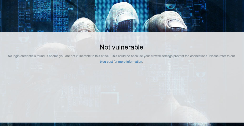 Microsoft: Not vulnerable