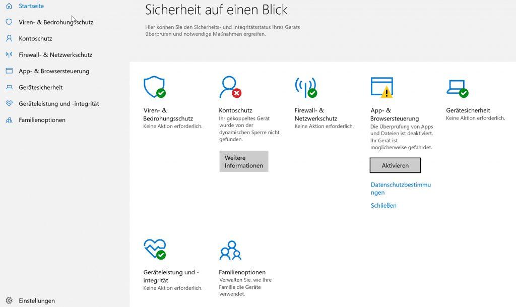 Das Windows 10-Sicherheitscenter: Alle wichtigen Schutzeinstellungen im Griff - in-post