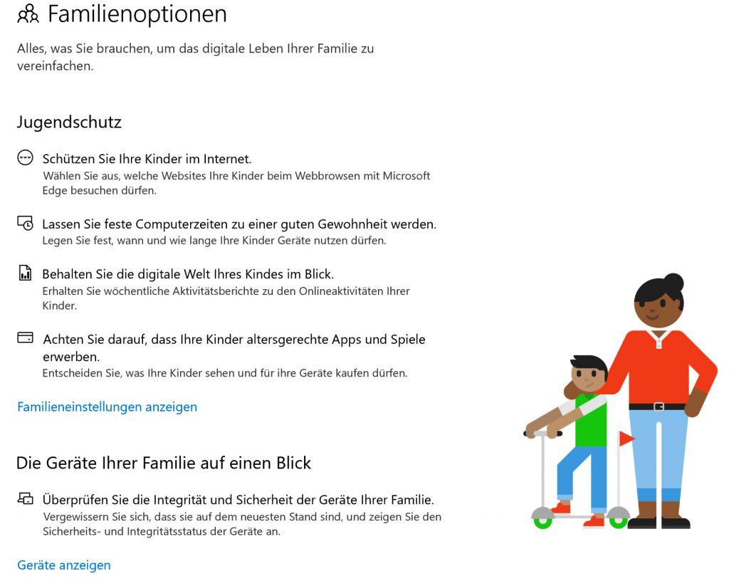 Windows 10-Sicherheitscenter: Wie das neue Sicherheitscenter Ihren Computer für Kinder sicherer macht - in-post