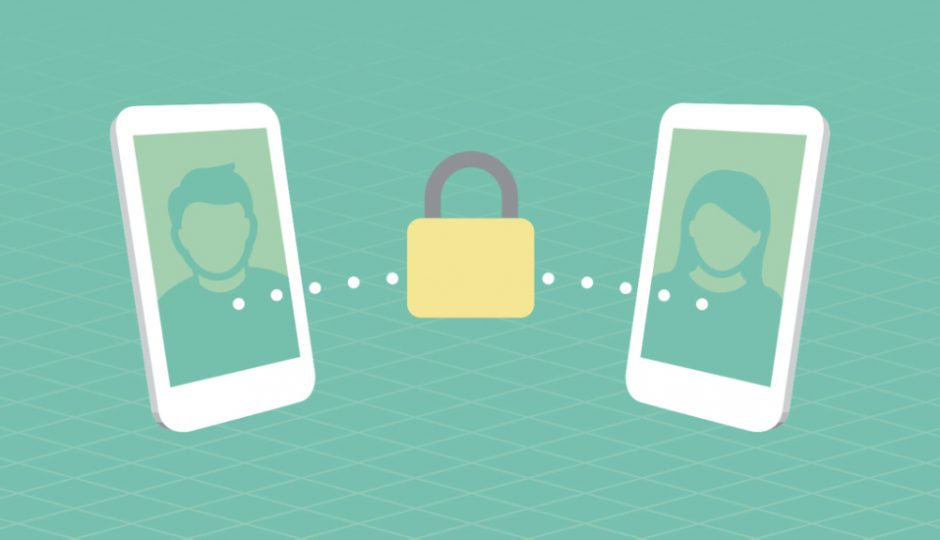 How end-to-end encryption protects your chats - crittografia, chiffrement, Verschlüsselung