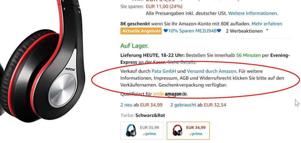 Umtauschen von Weihnachtsgeschenken: Gerade bei Amazon.de müssen Sie aufpassen. Hier tummeln sich viele Händler mit unterschiedlichen Geschäftsbedingungen.