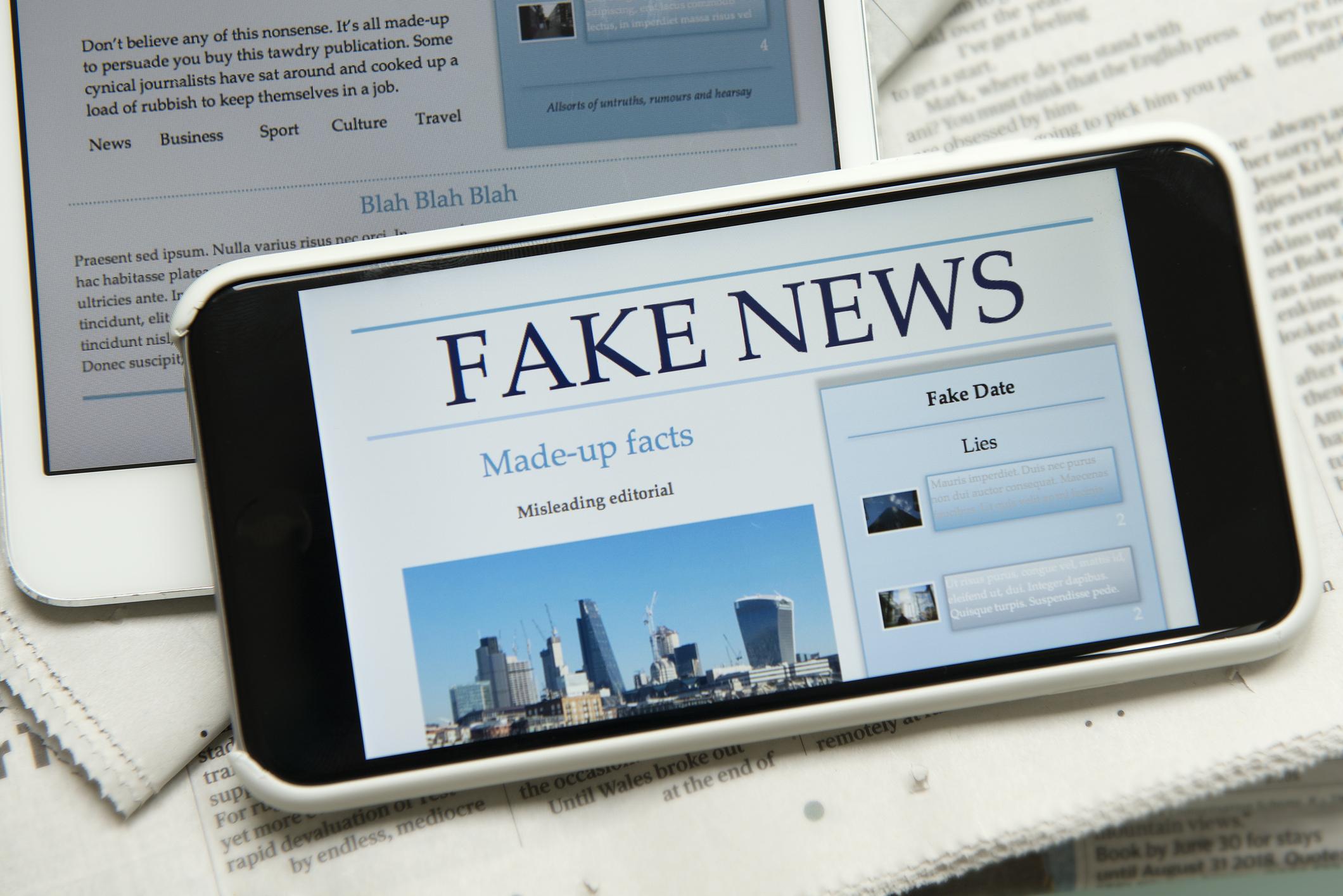 Seriöse News kann man oft ganz einfach von unseriösen unterscheiden