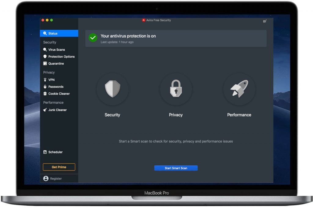 Avira Free Security for Mac 2021 Edition