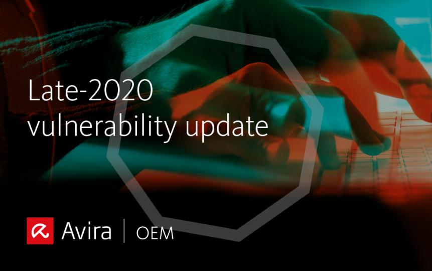 late 2020 vulnerability update