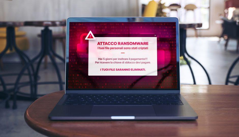 ransomware notifica