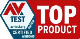 Top product award for our protection, performance, and usability
