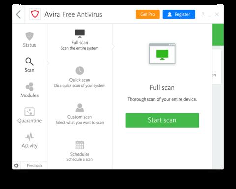 Download avira free antivirus 15. 0. 1909. 1591 for windows.