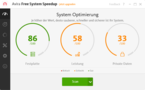 Avira Free System Speedup Screenshot