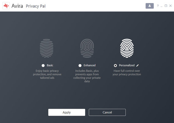 Avira Privacy Pal Screenshot