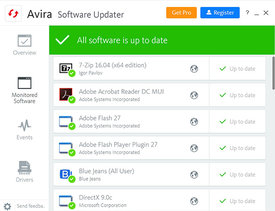 Avira Free Software Updater Screenshot